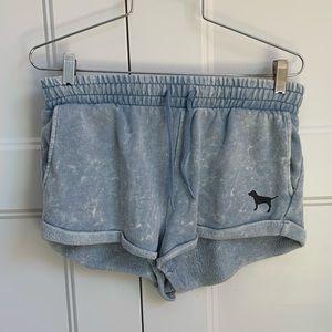 Victoria's Secret varsity cloud dye shorts